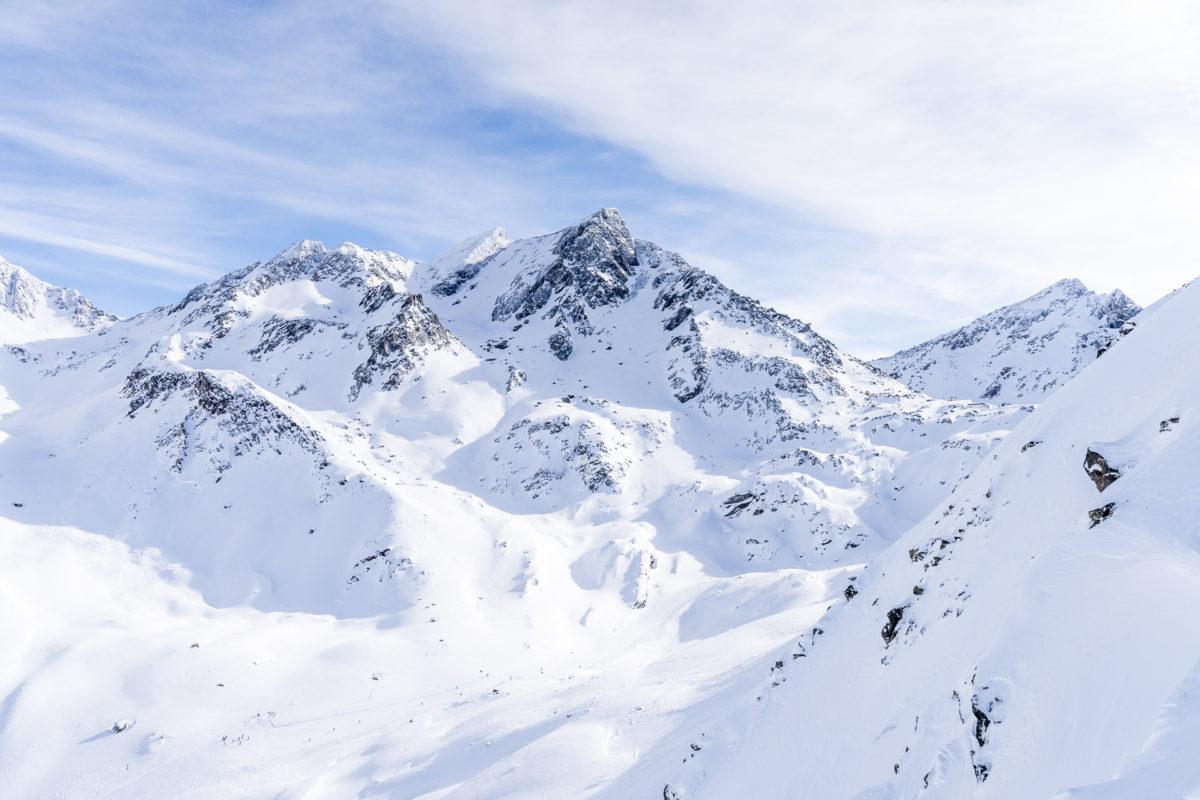 Samnaun Ischgl Skigebiet