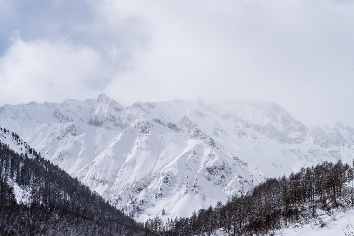 Samnaun Winterlandschaft