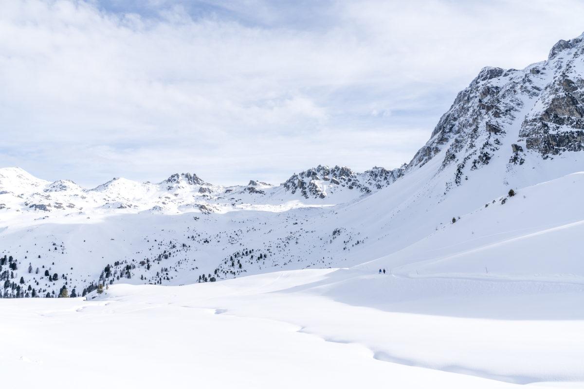 Winterwanderwege Val d'Anniviers
