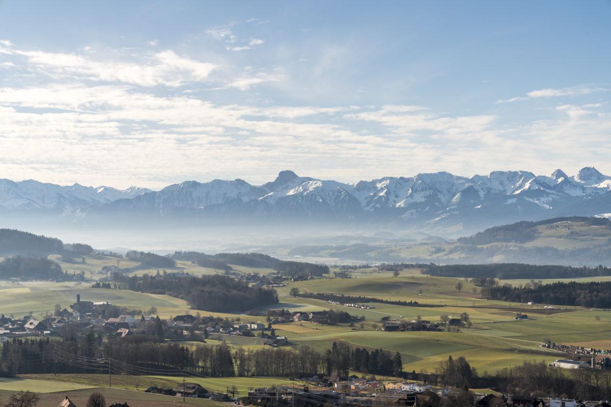 Worberberg Aussicht