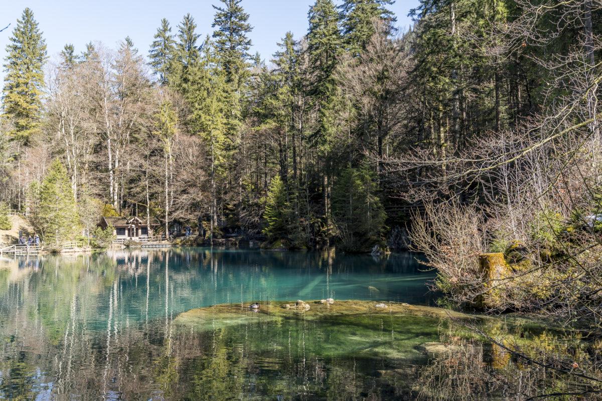 Ausflug an den Blausee