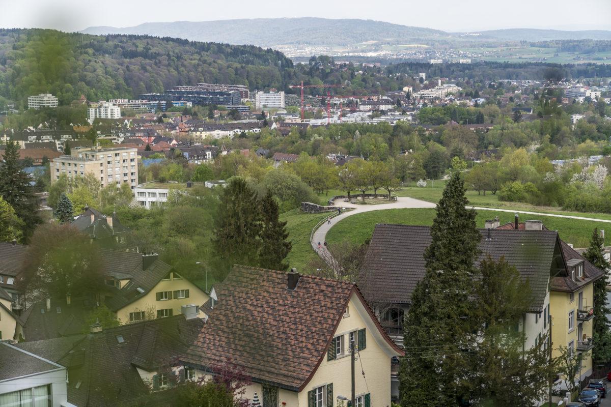 Aussicht vom Zürichberg