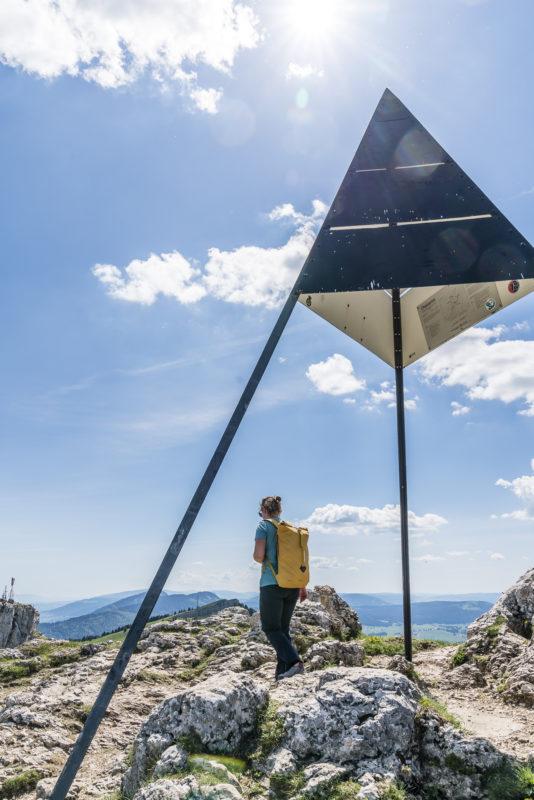 Chasseron Gipfelkreuz