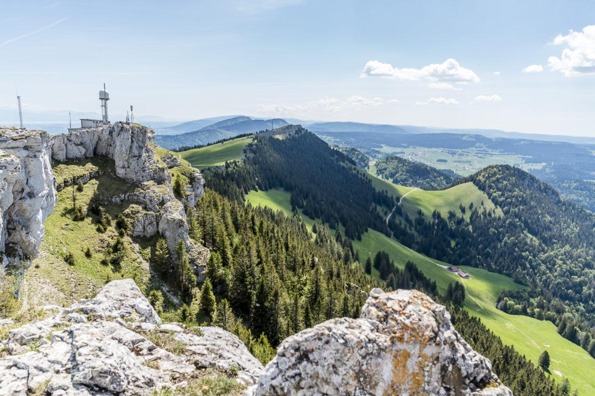 Chasseron Jura Gipfel