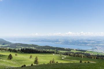 Über den Chasseron nach Vallorbe: 2-Tageswanderung auf dem Jura-Höhenweg