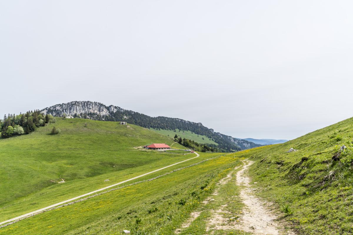 Grange Neuve Jura-Höhenweg