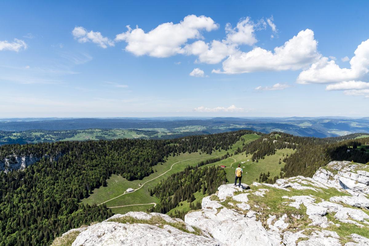 Jura-Höhenweg Chasseron