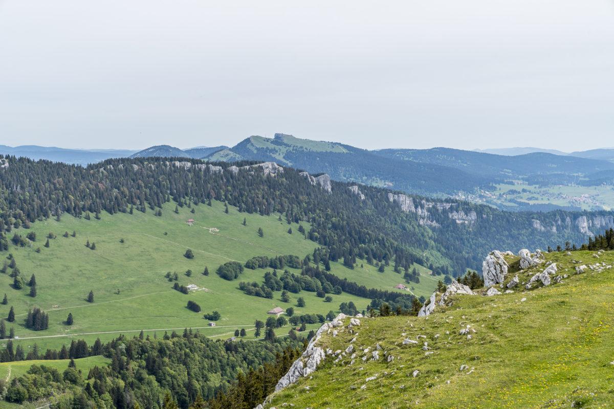 Jura Kette Höhenweg