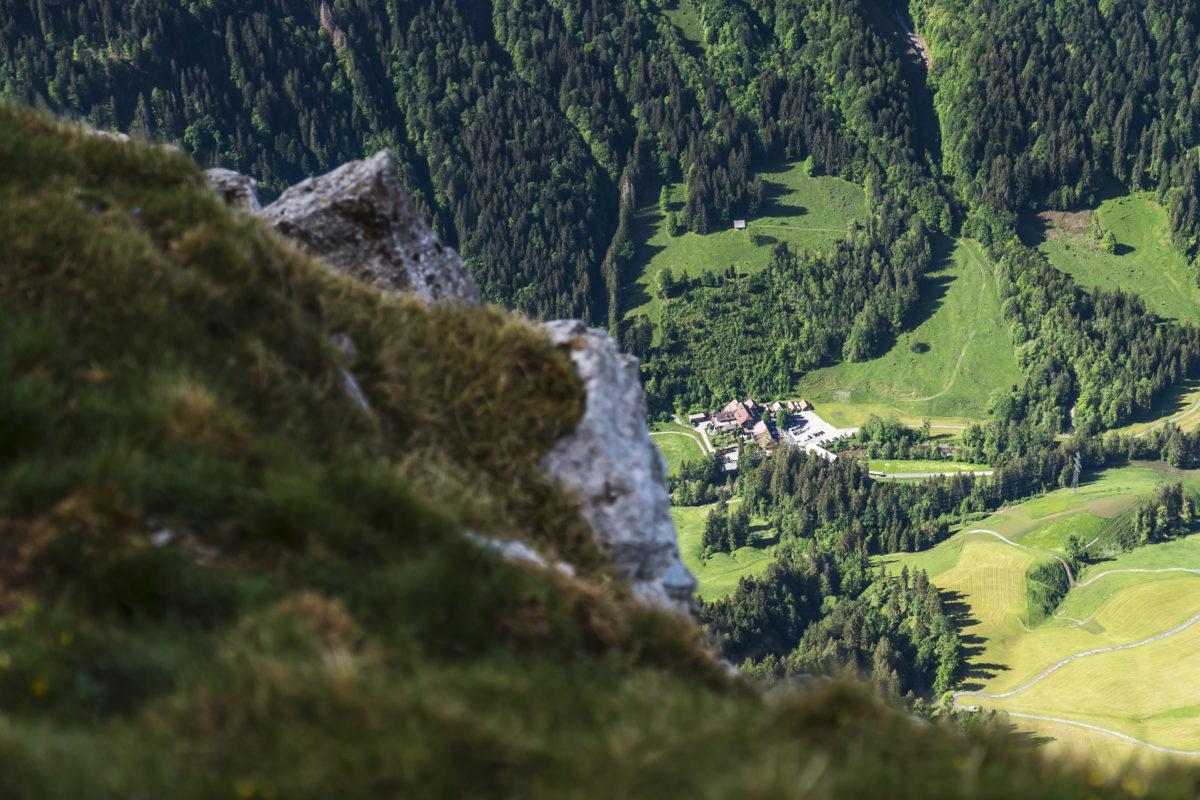 Kammeribodenbad Vogelblick