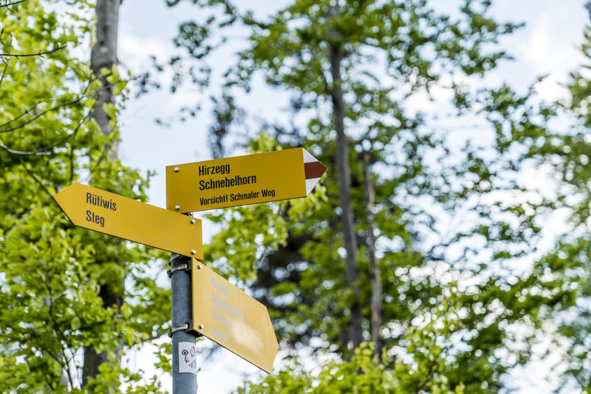 Wanderwege Zürich Oberland