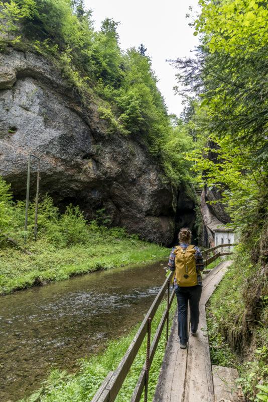 Wissbachschlucht Gossau Appenzell Wandertipp