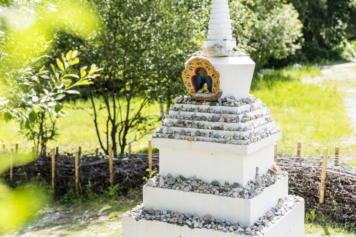 Stupa Bhutanbrücke