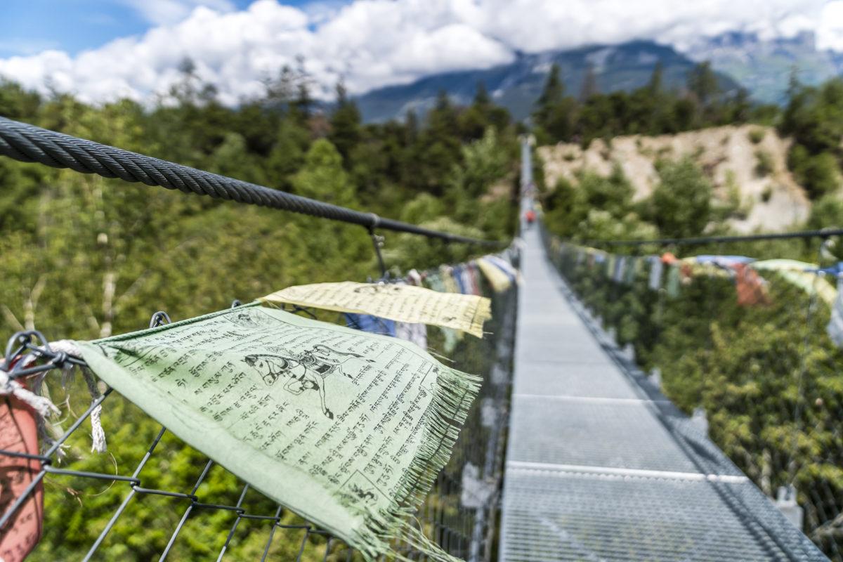 Bhutanbrücke Pfynwald