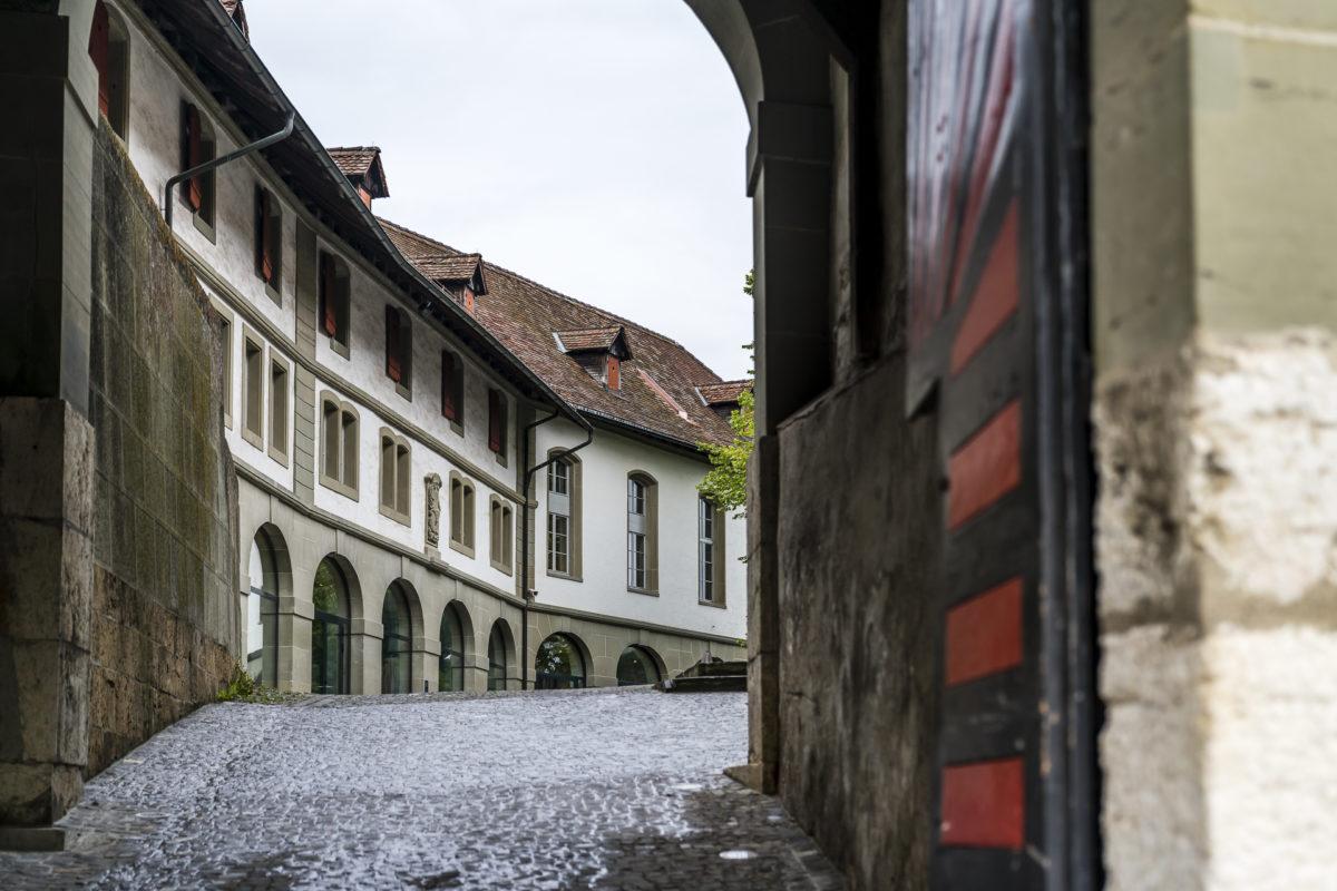 Schloss Burgdorf Eingang