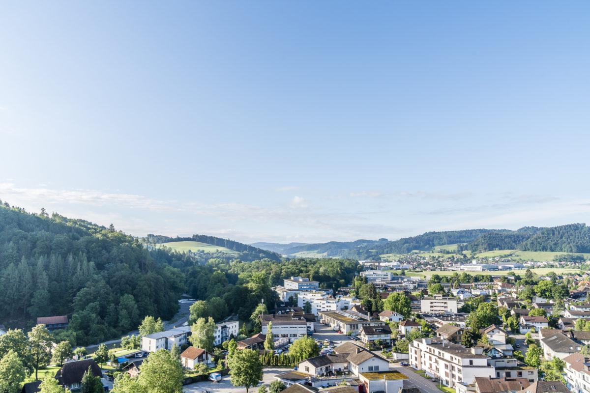 Blick über Burgdorf