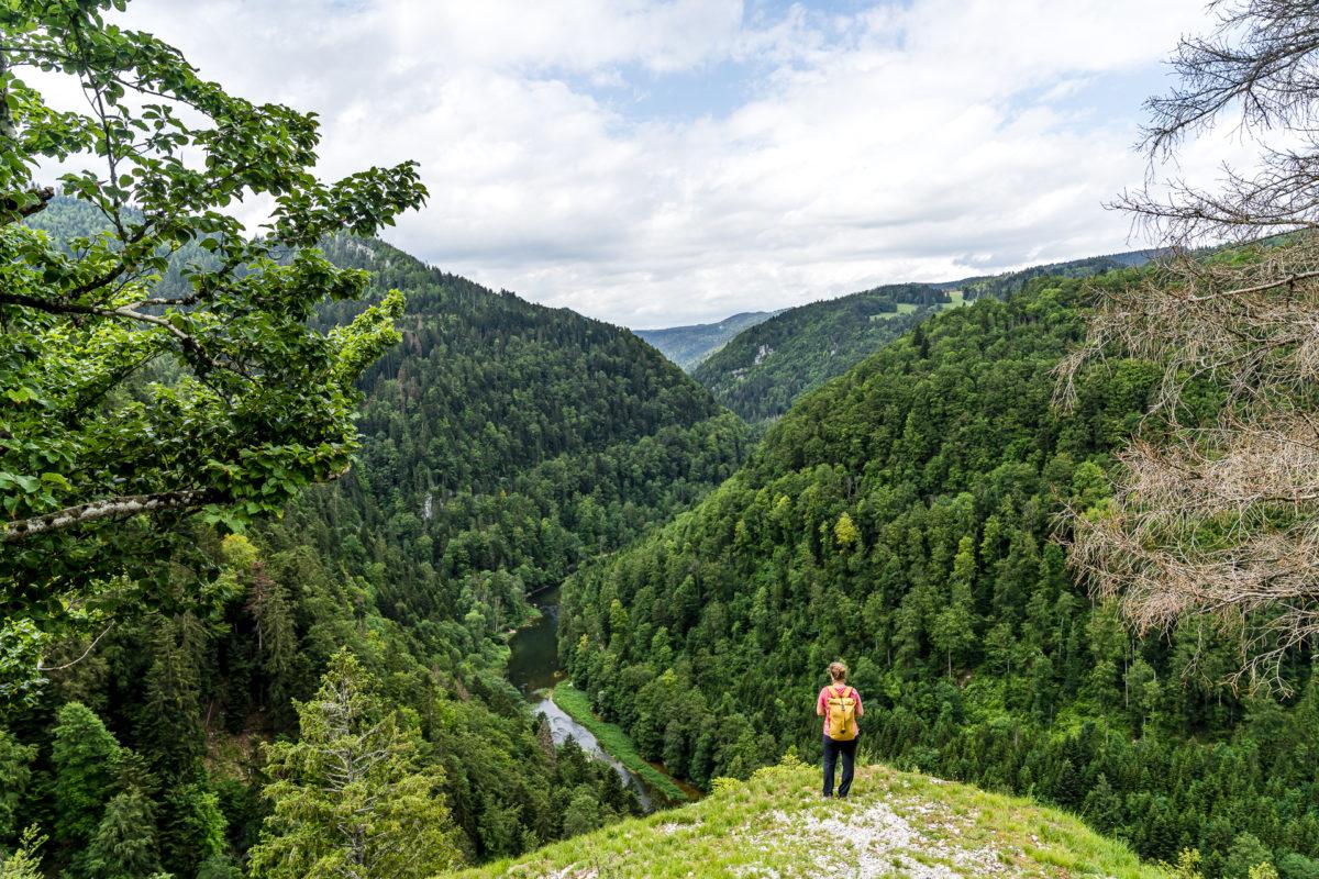 Aussicht über den Doubs