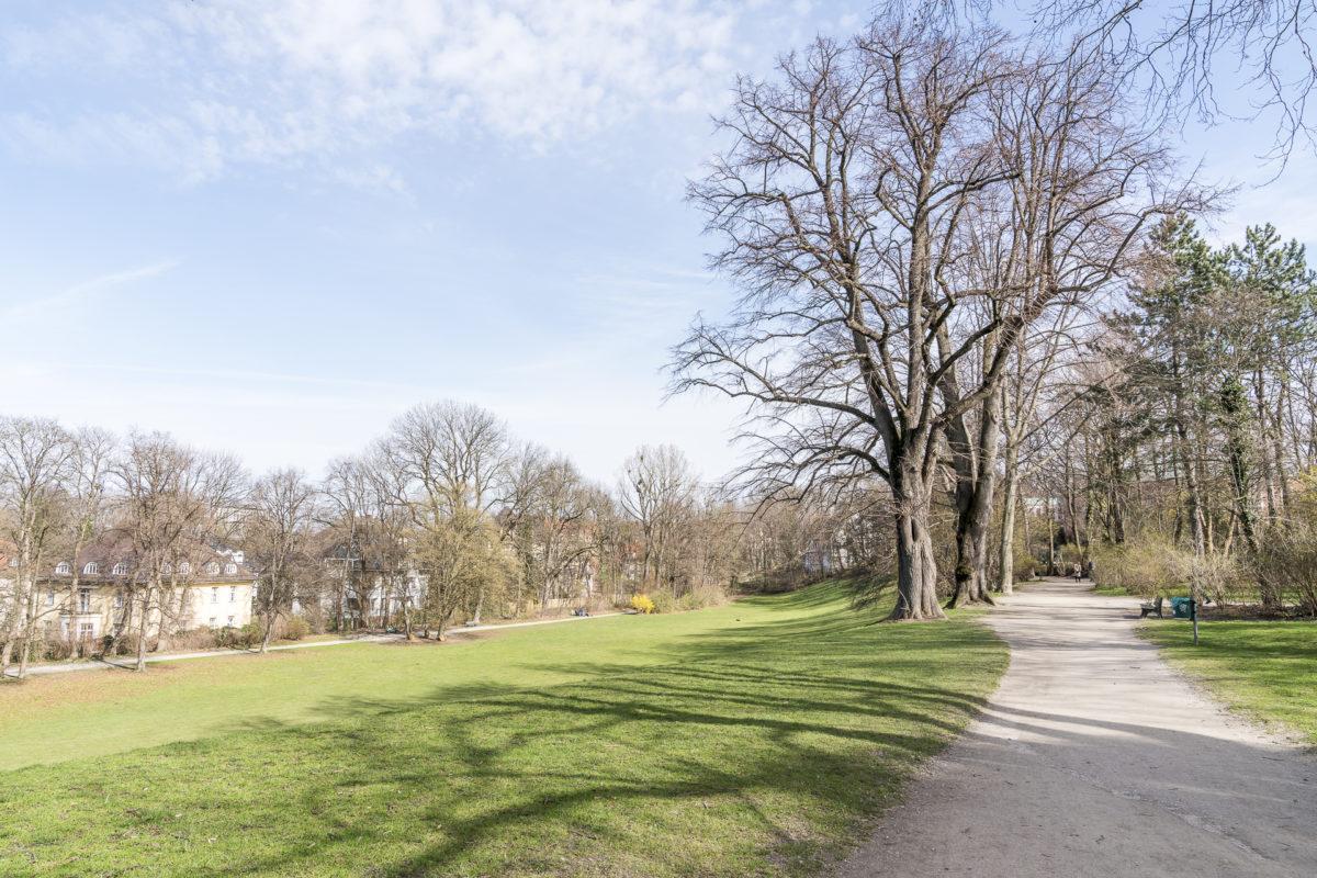Englischer Garten Spazieren