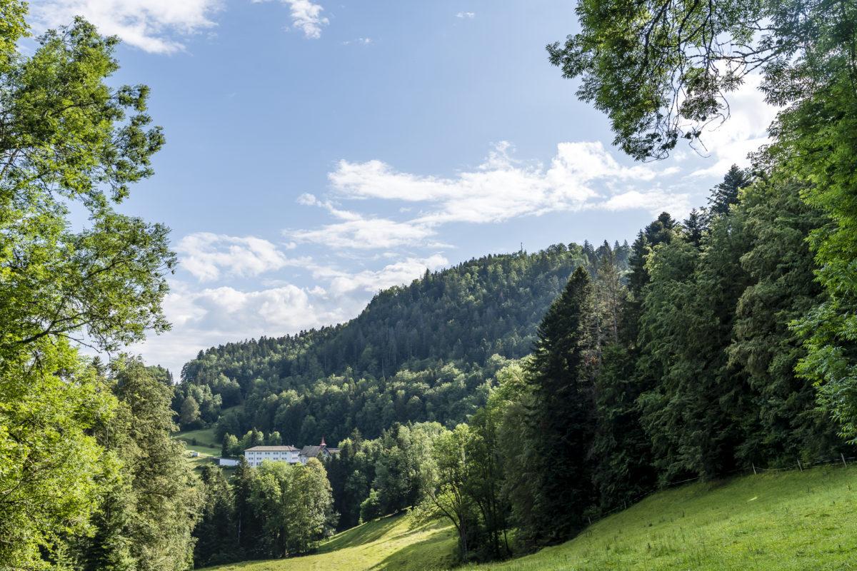 Le Noirmont Landschaft