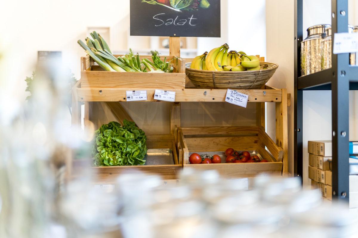 Ohne Supermarkt Gemüse