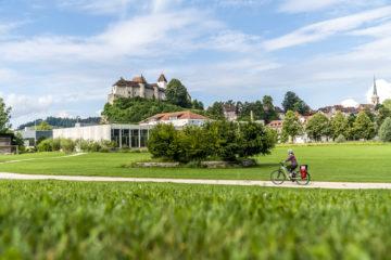 Velotour durch den Kanton Bern: auf der Herzroute von Laupen nach Burgdorf