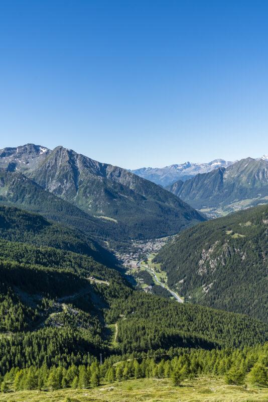 Panorama Val d'Ayas