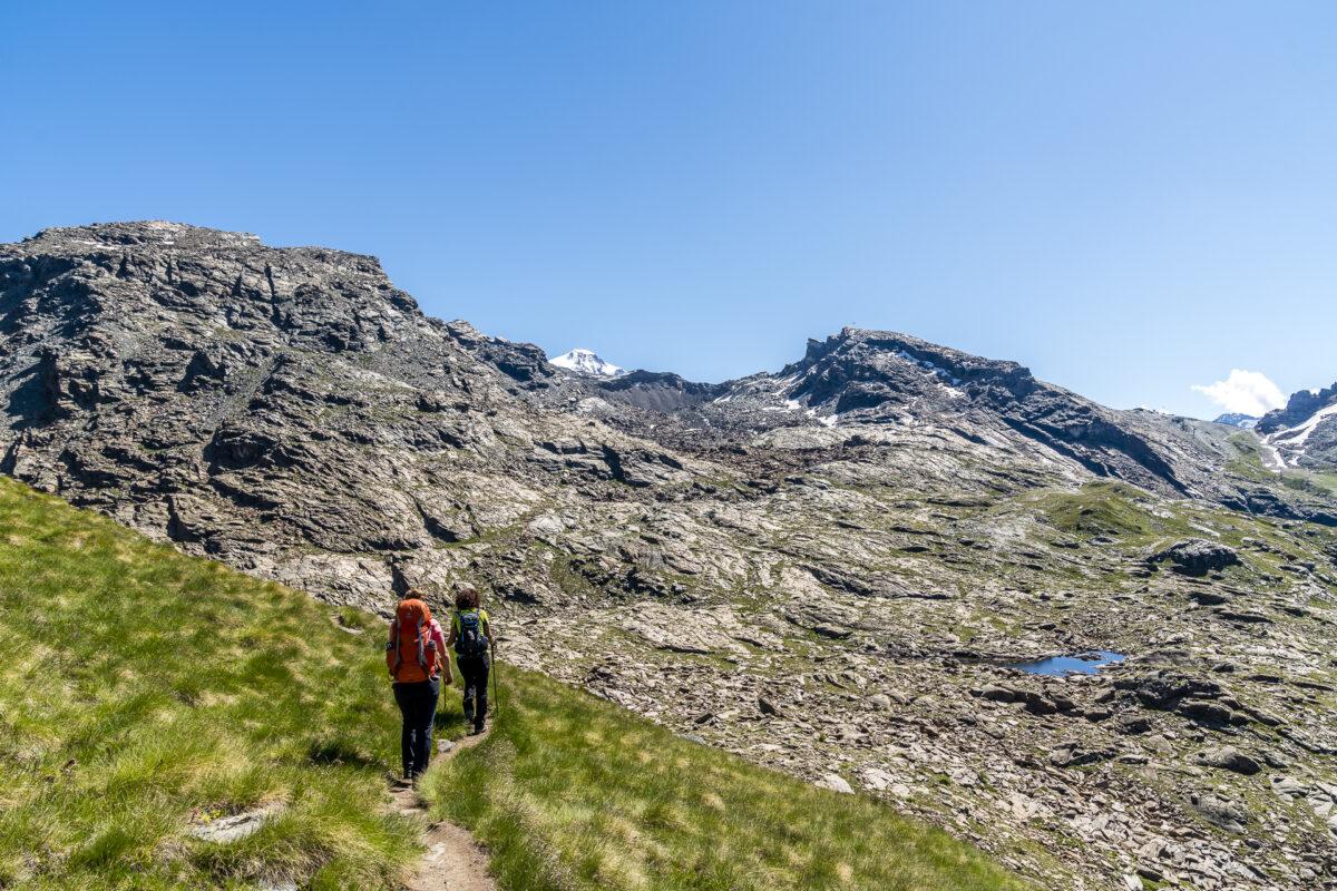 Wanderung zu den Resy Seen