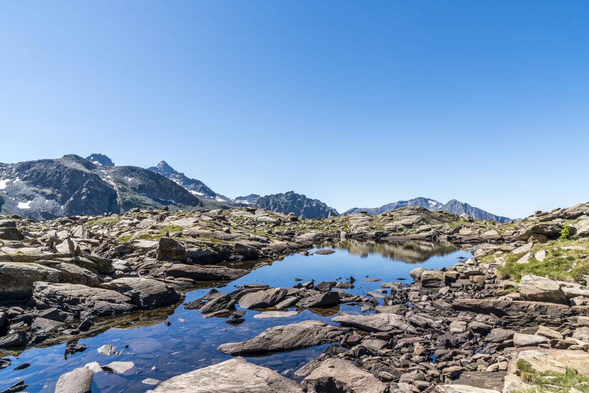 Lac des Resy Aostatal