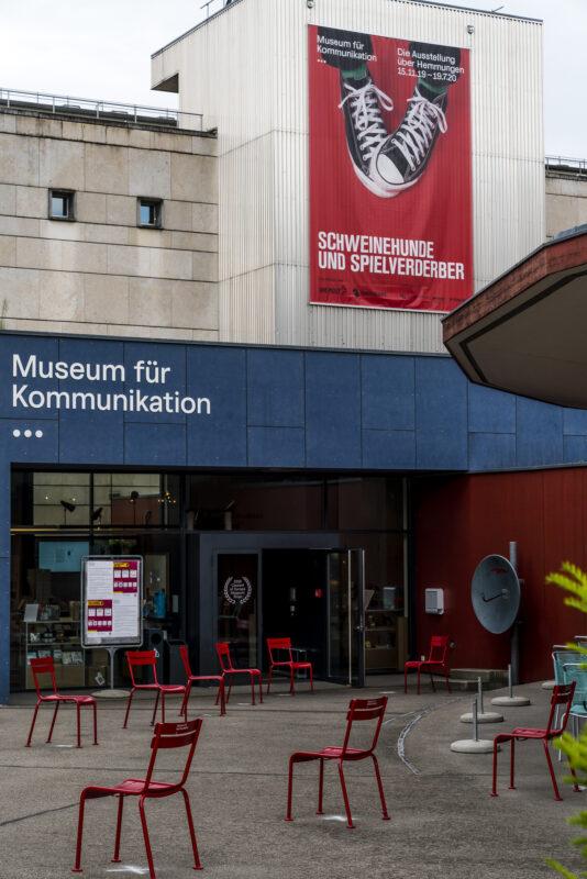 Museum für Kommunikation Eingang