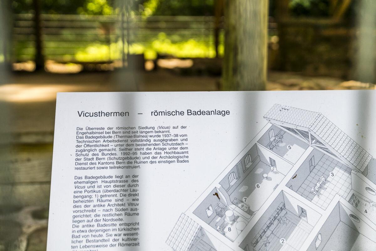 Römibsches Bad Tiefenau bei Bern