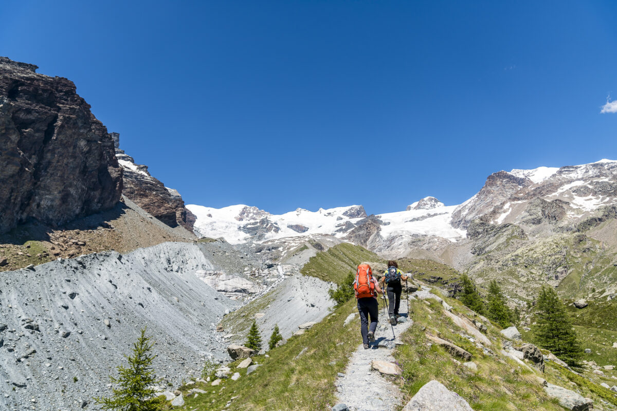 Wanderung Lac Bleu Breithorn