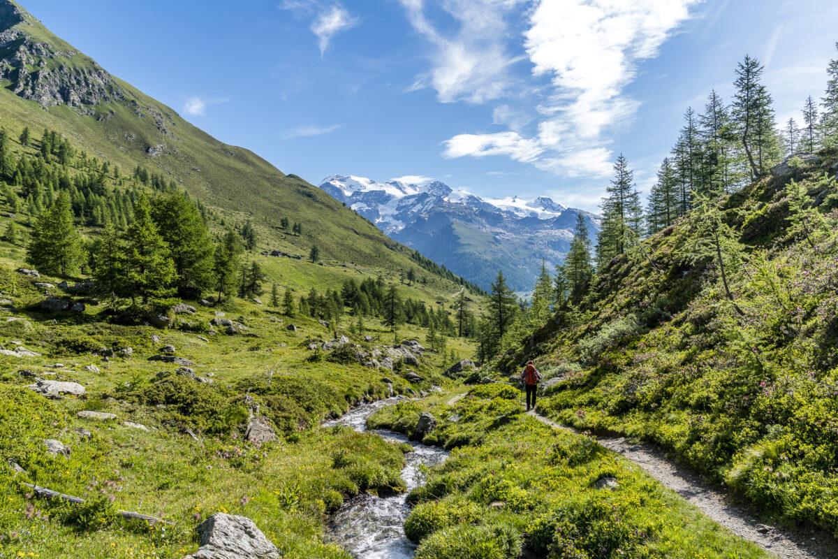 Berglandschaft im Aostatal