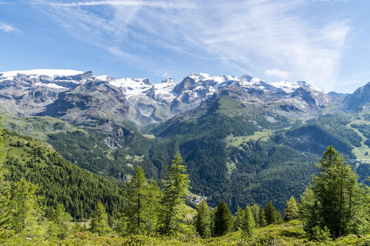 Panorama Aostatal Val d' Ayas