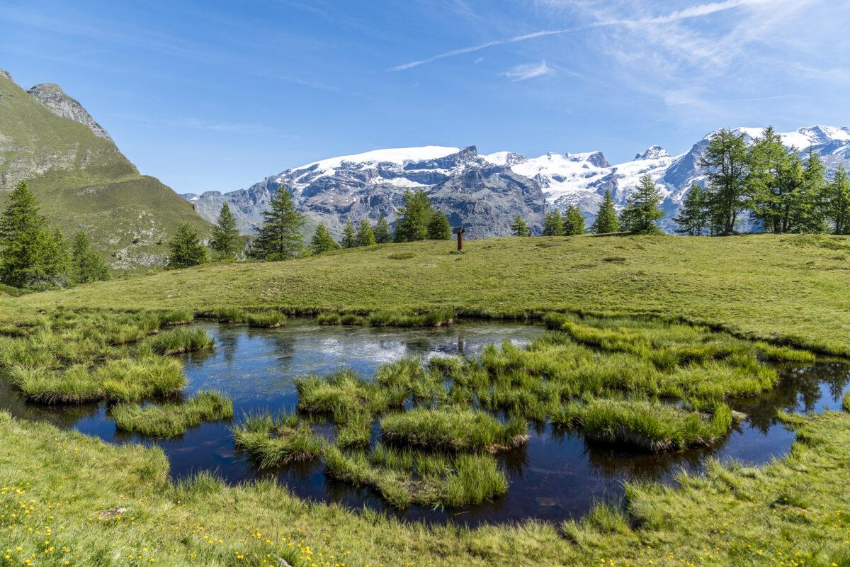 Panoramawanderung im Aostatal