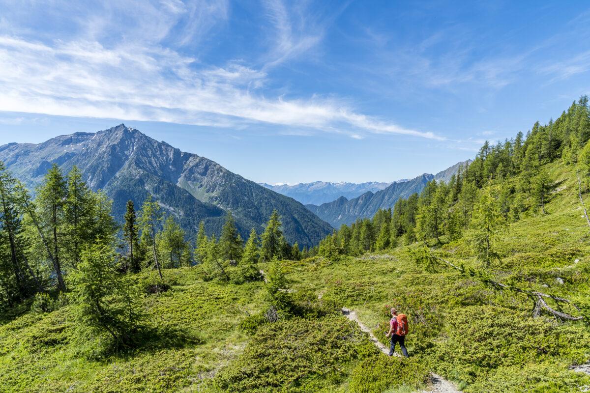 Wanderung Alta Via 1 Aostatal