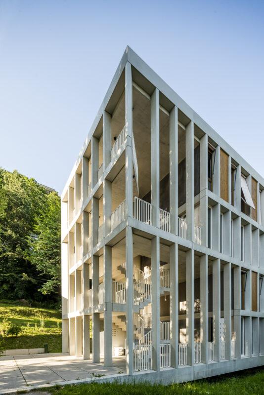 Jugendherberge Bern Architektur