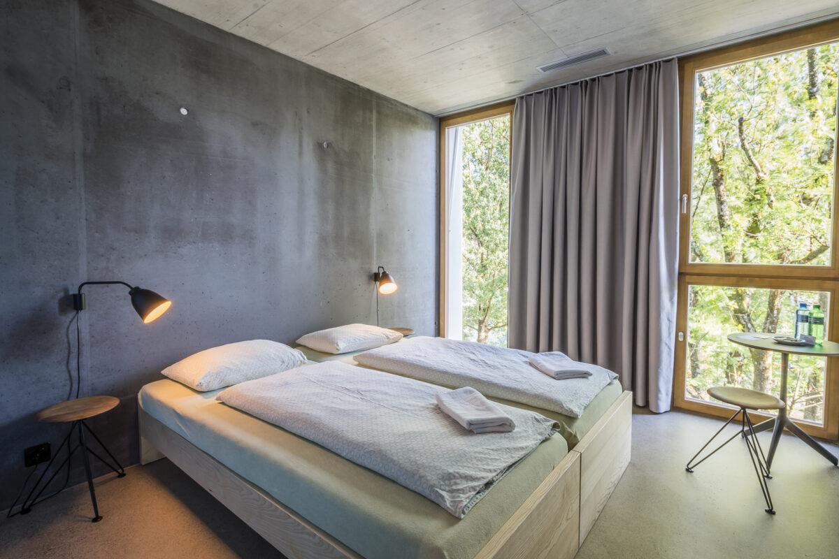 Zimmer in der Jugendherberge Bern
