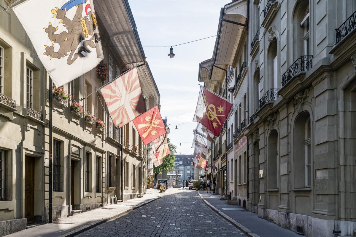 Bern Altstadtgasse