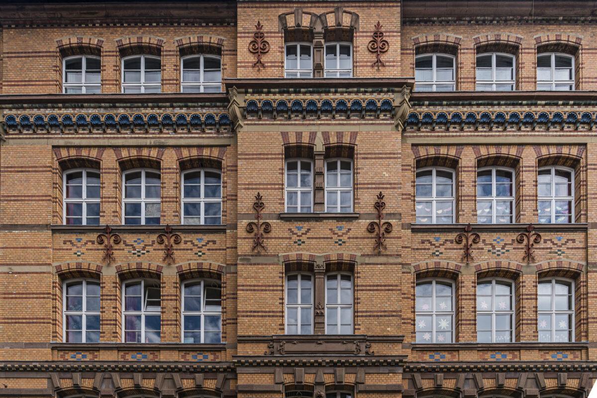 Heusteigviertel Fassaden