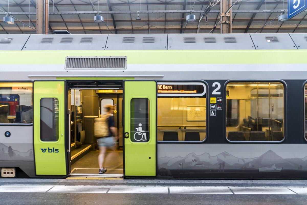 BLS Bahnhof Luzern