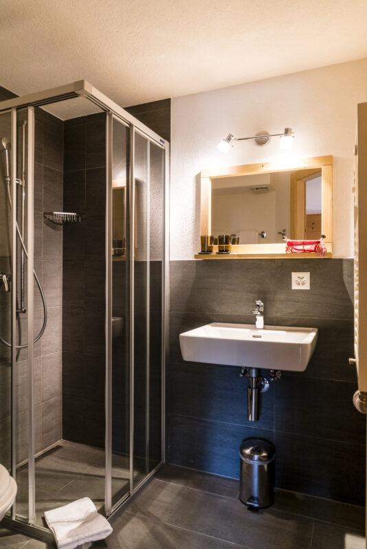 Badezimmer Relais d'Arpette