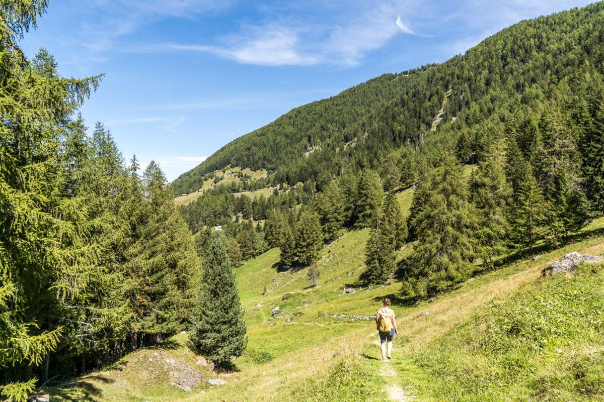 Wanderweg Siviez Haute-Nendaz