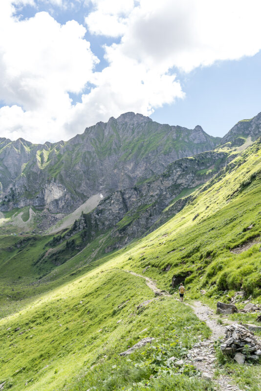 Wanderweg Col des Mosses