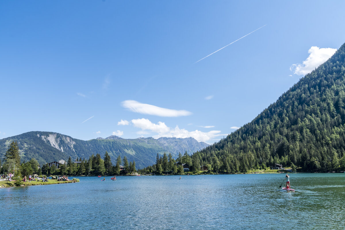 Champex-Lac See