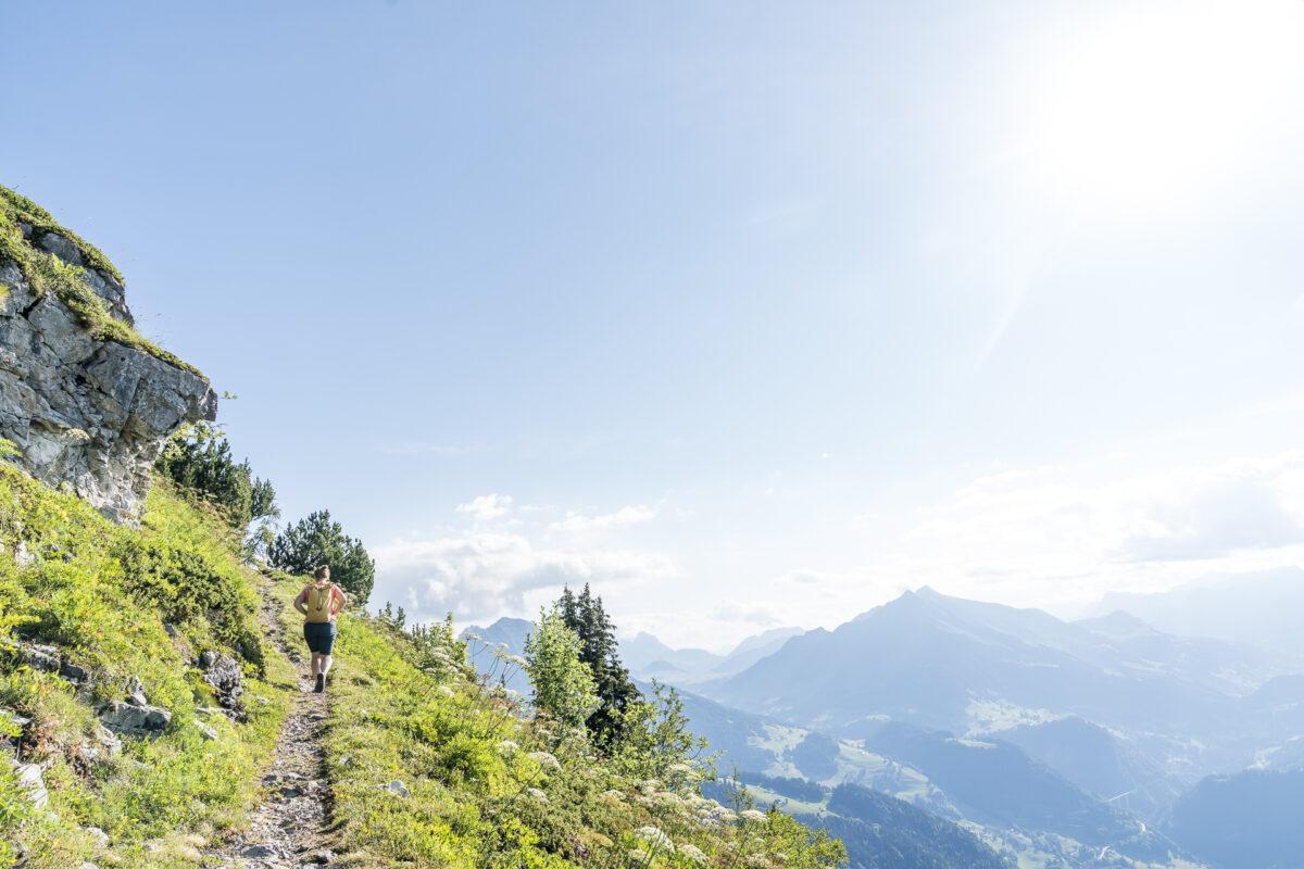 Chemin du Kuklos Aufstieg