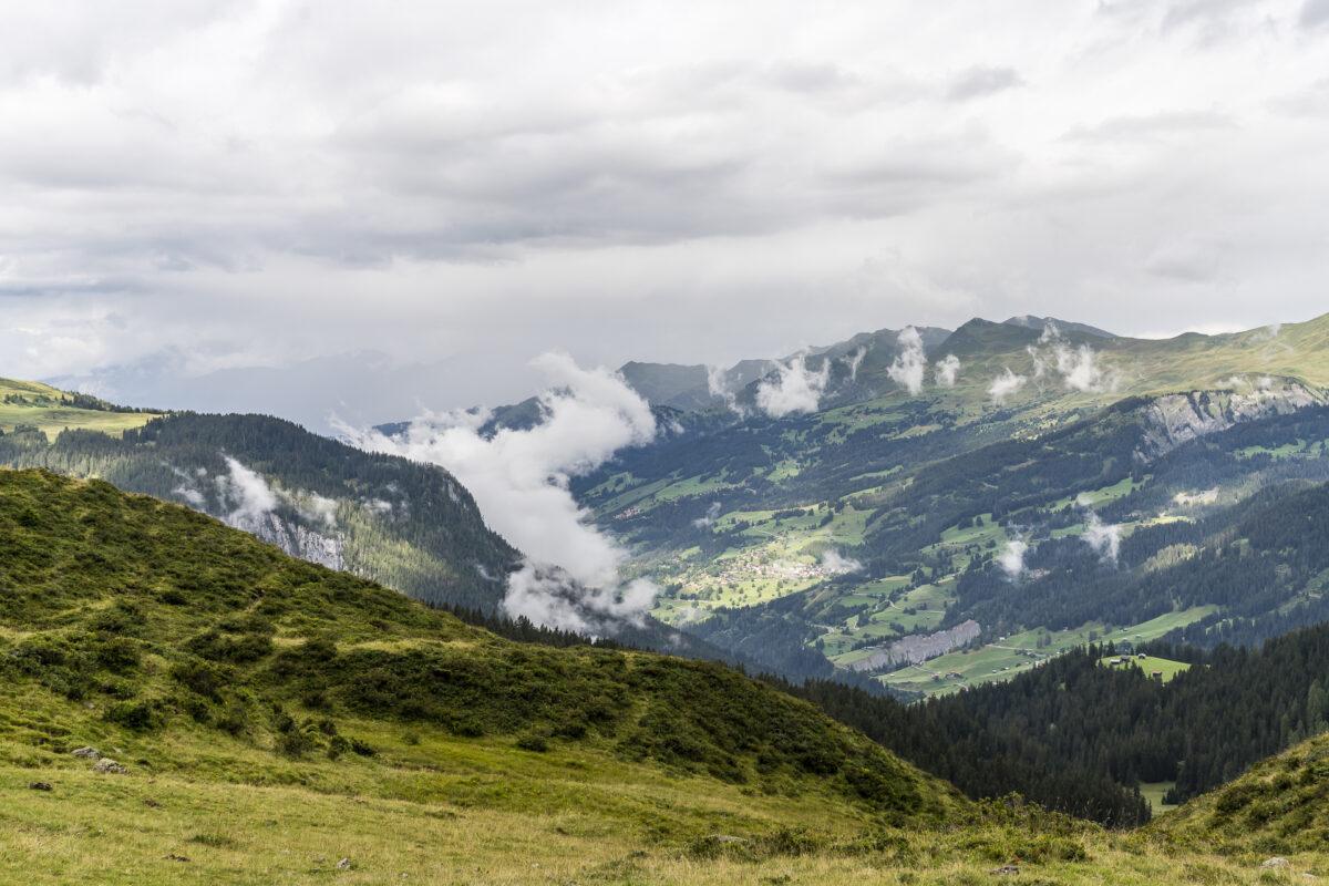 Aussicht Walserweg