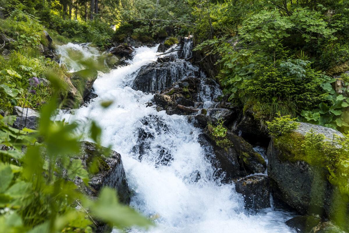 Bisse du Champex Wasserfall