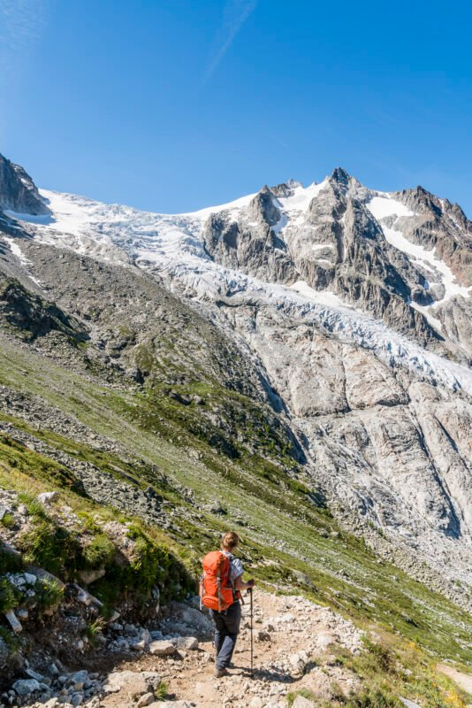 Wanderung zum Trientgletscher