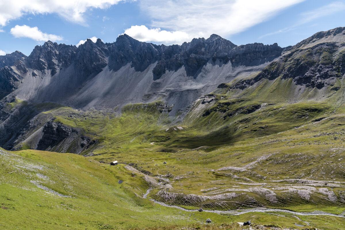 Abstieg zur Ramozhütte