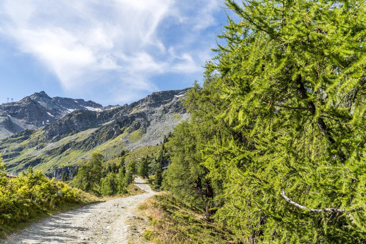 Wanderwege Nendaz