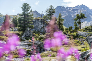 Jardin Japonais Nendaz: schöne Herbstwanderung im Wallis